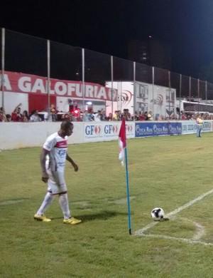 Tricordiano e Villa Nova empatam em 1 a 1 no Elias Arbex, em Três Corações (Foto: Ernane Fiuza/EPTV)