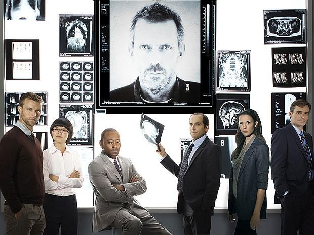 Elenco da oitava e última temporada de 'House' (Foto: Divulgação)