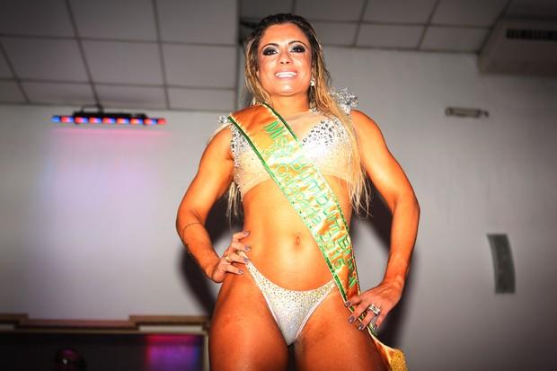 Dani Sperle - terceiro lugar Miss Bumbum (Foto: Iwi Onodera / EGO)