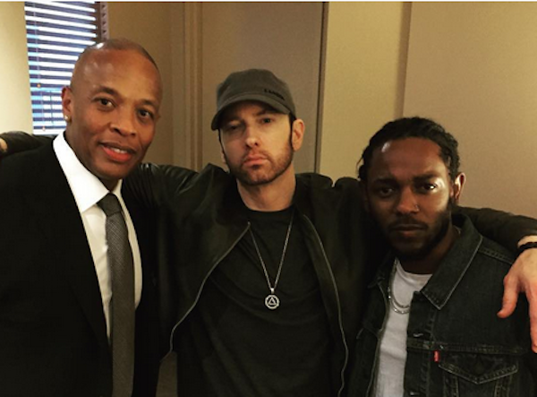 O novo visual do rapper Eminem (Foto: Instagram)