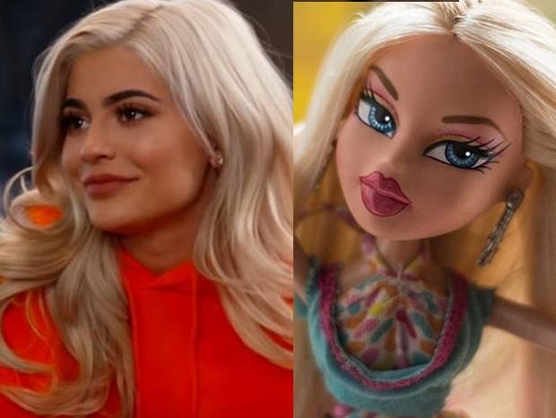 Kylie Jenner x boneca Bratz (Foto: Reprodução)
