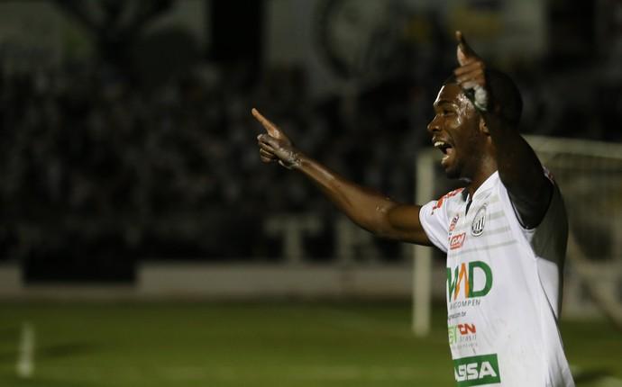 Mateus Lima Operário-PR x Atlético-PR comemora (Foto: Luciano Mendes/Operário-PR)