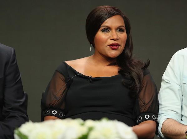 A atriz Mindy Kaling grávida (Foto: Getty Images)