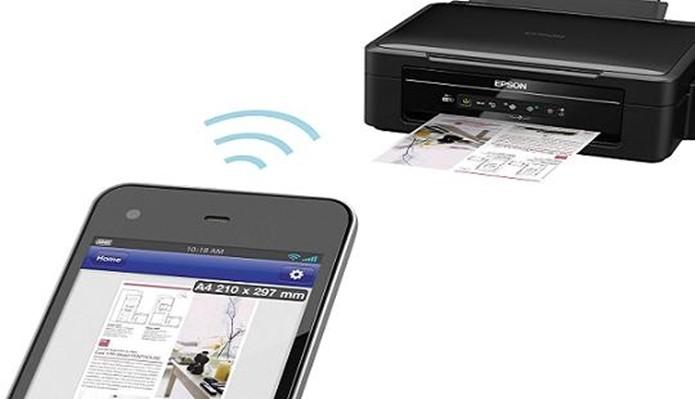 Epson L355 é uma econÇomica com Wi-Fi integrado (Foto: Divulgação/Epson)