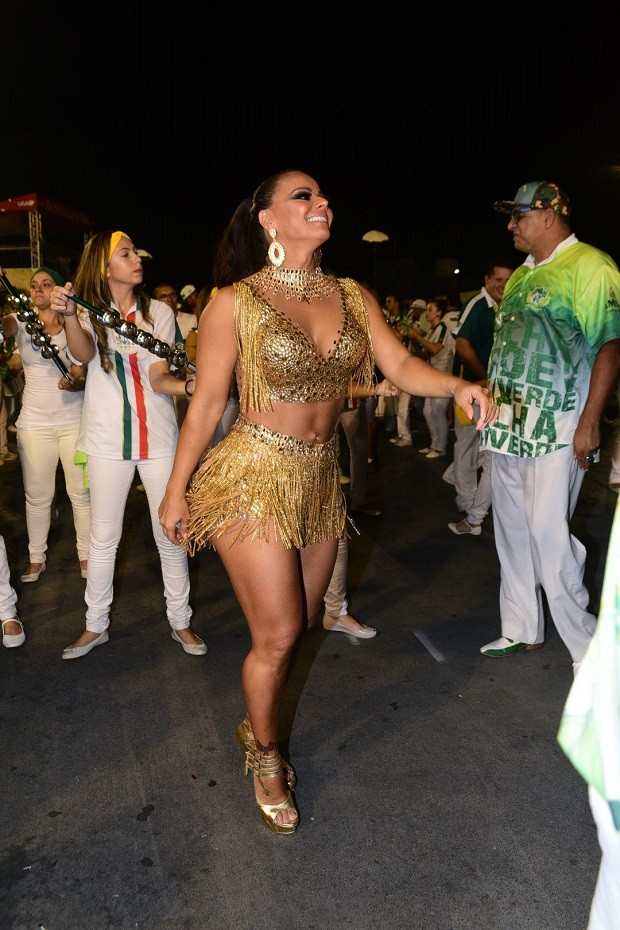 Viviane Araújo (Foto: Leo Franco / AgNews)