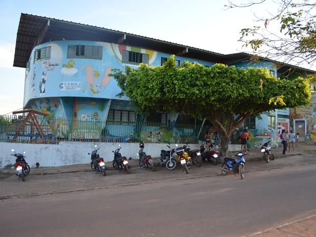 Segundo município, prédio onde funciona creche funciona em comodato (Foto: Secretaria de Educação/ Divugação )