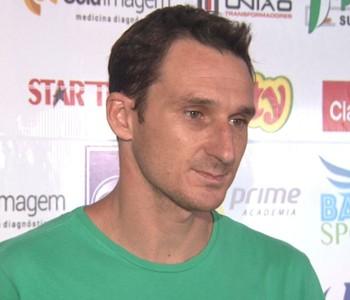 Alex Afonso, diretor de futebol do Rio Claro (Foto: César Fontenele/EPTV)