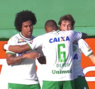 Hyoran Chapecoense Botafogo (Foto: Reprodução)