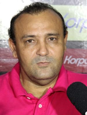 William Simões, presidente do Campinense (Foto: Nelsina Vitorino / Jornal da Paraíba)