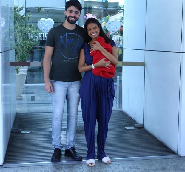 Aline Dias e Rafael Cupello  (Foto: AgNews)