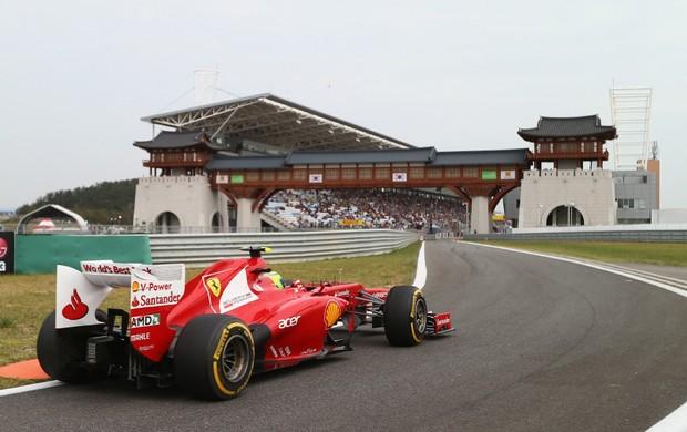Felipe Massa foi 4º no GP da Coreia: quinta atuação consistente consecutiva (Foto: Getty Images)