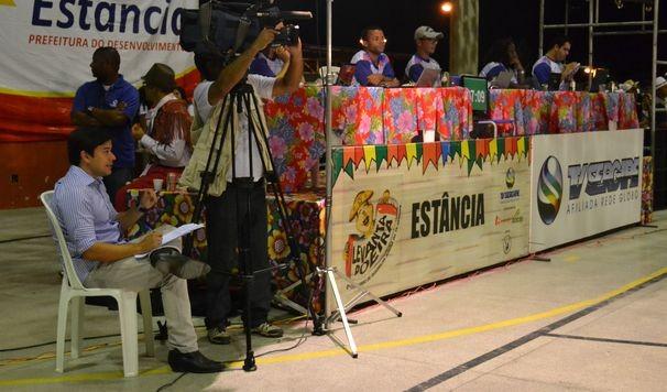 Levanta Poeira chega em Estância (Foto: TV Sergipe/Divulgação)