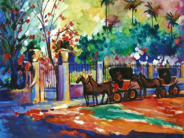 Mostra artista plástica Maria de Oliveira (Foto: Divulgação)