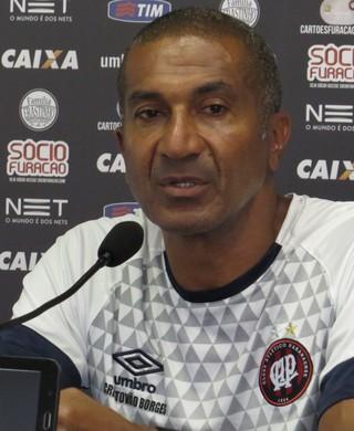 Cristóvão Borges Atlético-PR (Foto: Fernando Freire)
