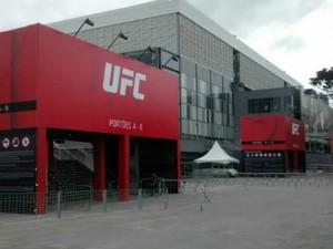 Arena da Baixada vai receber o UFC 198 (Foto: Fernando Freire / Globoesporte.com)