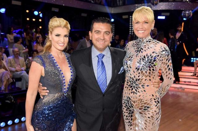 """Buddy Valastro e sua mulher, Lisa, estiveram no Rio e gravaram participação no especial de fim de ano do """"Dancing Brasil"""" ao lado de Xuxa Meneghel (Foto: Blad Meneghel)"""