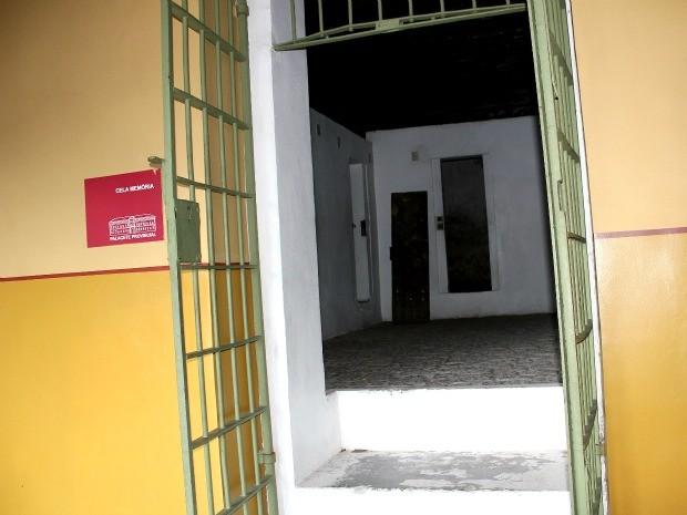 Cela Memória, onde infratores detidos nas redondezas do Centro ficavam no Século XIX (Foto: Marcos Dantas / G1 AM)