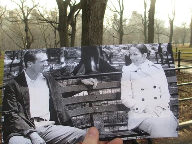 Fotógrafo recria cenas de filmes (Foto: Christopher Moloney/reprodução)