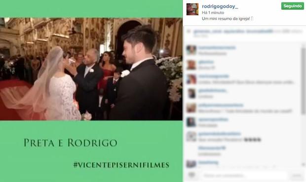 Rodrigo Godoy posta mensagem sobre casamento (Foto: Instagram / Reprodução)