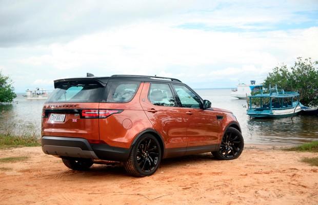 Land Rover Discovery na Amazônia (Foto: Divulgação)