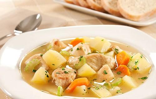 Sopa de Legumes com Frango