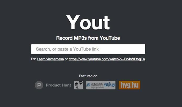 Insira o link do vídeo no site do Yout (Foto: Reprodução/André Sugai)