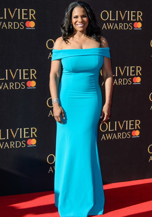 Audra McDonald no Olivier Awards, em Londres (Foto: Getty Images)