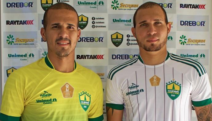 Ronny e Tito, Cuiabá (Foto: Pedro Lima/Cuiabá Esporte Clube)