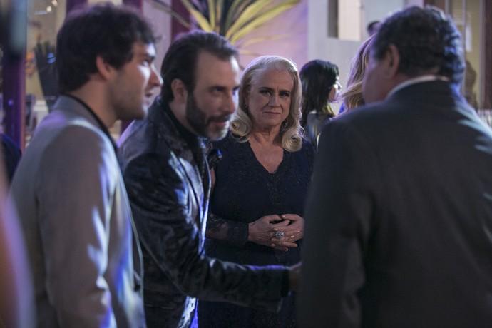 Mág diz não saber do que Venturini está falando (Foto: Raphael Dias/Gshow)