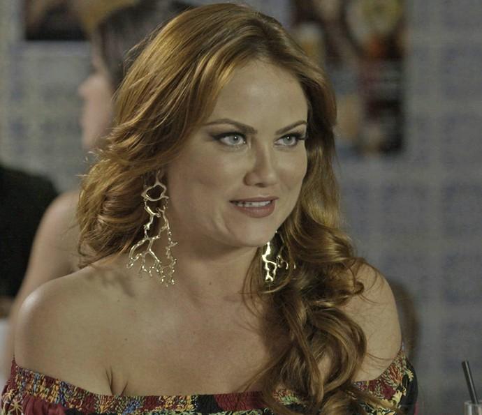 Leonora quer acompanhar Ana Paula em reunião com Pedro Bial (Foto: TV Globo)