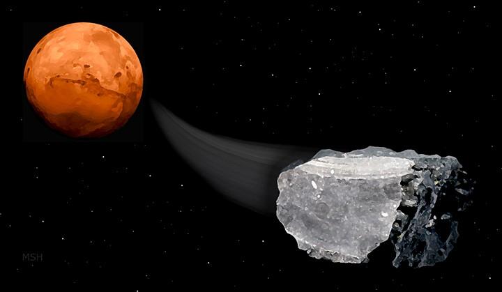 Sinais de vida em Marte? Encontraram metano em meteoritos do planeta