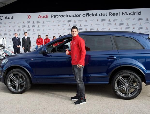 James Rodriguez carro Audi