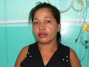Mulher desferiu três golpes de facas no marido após discussão  (Foto: Divulgação/PM-TO)