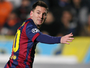 """""""Destro"""" Messi faz três, Suárez marca pela primeira vez, e Barça goleia Apoel"""