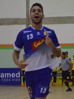 glória, itaporanga, juninho, copa tv sergipe de futsal (Foto: João Áquila / GloboEsporte.com)