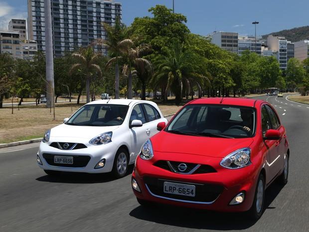 Nissan March 1.0 (Foto: Divulgação)
