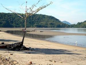 Praia da Itinga, em Angra dos Reis, RJ (Foto: Divulgação PMAR/Igor Abreu)
