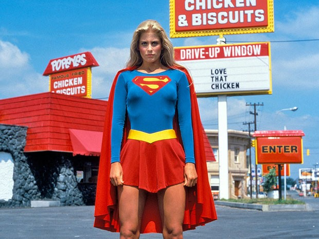 Helen Slater em 'Supergirl' (Foto: Divulgação)