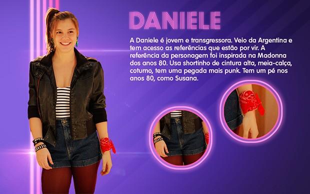 Daniele (Foto: Boogie Oogie/TV Globo)
