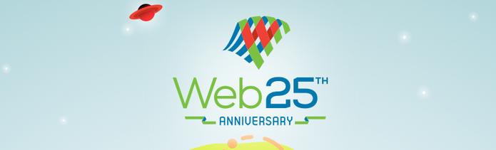World Wide Web completa 25 anos; criador da rede celebra e comenta espionagem (Foto: Reprodução/WeBat25)