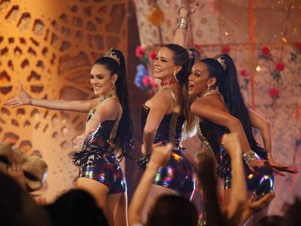 As meninas estão cada vez mais divas! (Foto: Cheias de Charme / TV Globo)