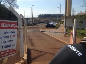 presos pedem transferência de 19 detentos da Penitenciária  (Foto: Caio Vasques/RPCTV Foz do Iguaçu)