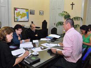 Reunião da Comissão Estadual da Verdade e da Preservação da Memória da Paraíba (Foto: José Francisco/SecomPB)