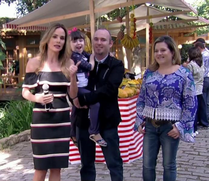 Fãs participam do 'É de Casa' como convidados (Foto: TV Globo)