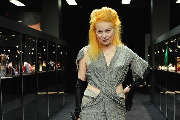 Vivienne Westwood, principal nome do punk na moda (Foto: Getty Images)