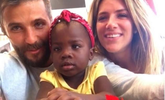 Bruno Gagliasso, Titi e Giovanna Ewbank (Foto: Reprodução)