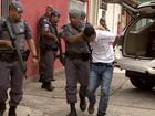 Quatro são detidos em operação no Banhado (Henrique Pedreiras/ TV Vanguarda)