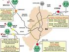 Rodovias em Minas Gerais têm congestionamento nesta sexta-feira