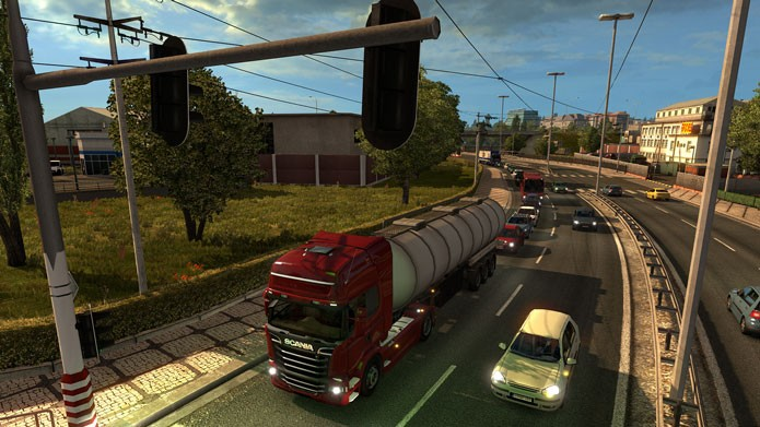 Saiba como baixar a versão demo do jogo Euro Truck ...