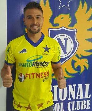 Marcelo Valverde goleiro Nacional-AM (Foto: Divulgação)